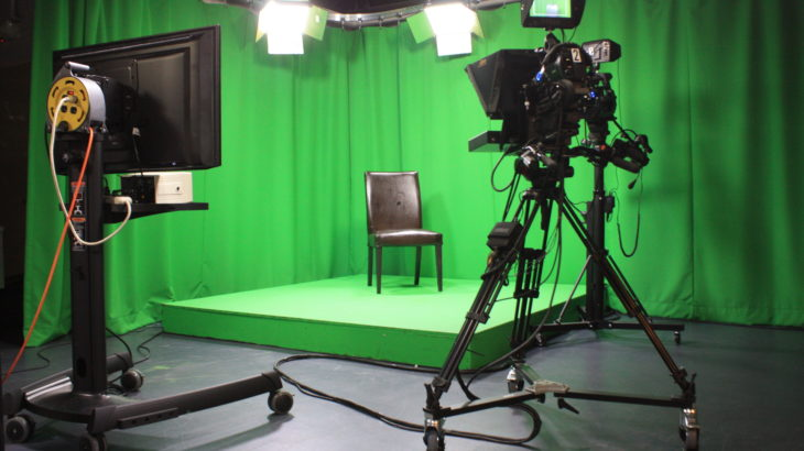 Filmen met greenscreen of in eigen videostudio