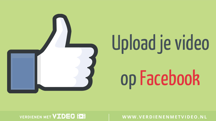Upload je video op Facebook in plaats van op YouTube