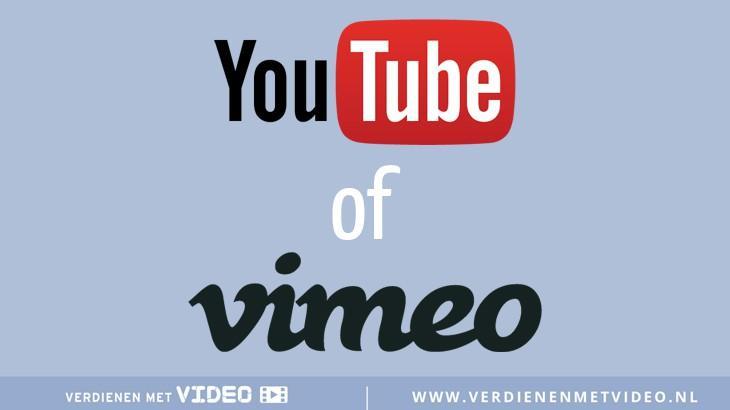 De verschillen tussen YouTube en Vimeo