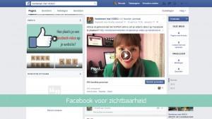 Facebook video's om beter zichtbaar te worden
