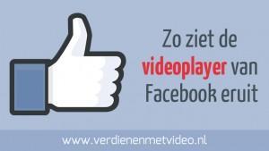 Zo ziet de videoplayer van Facebook eruit
