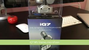 iPhone Microfoon test met iQ7 microfoon