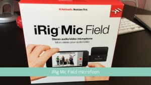 iPhone microfoon test met iRig Mic Field in de test