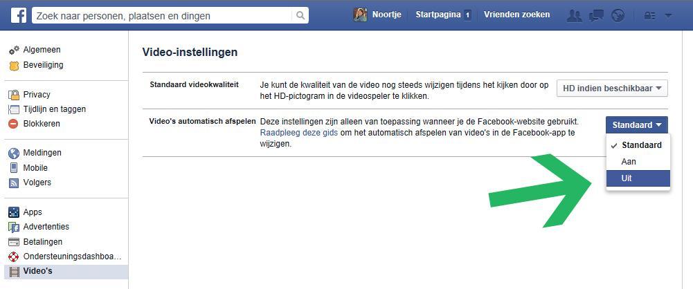 Facebook-video-autoplay-uitzetten-stap-3