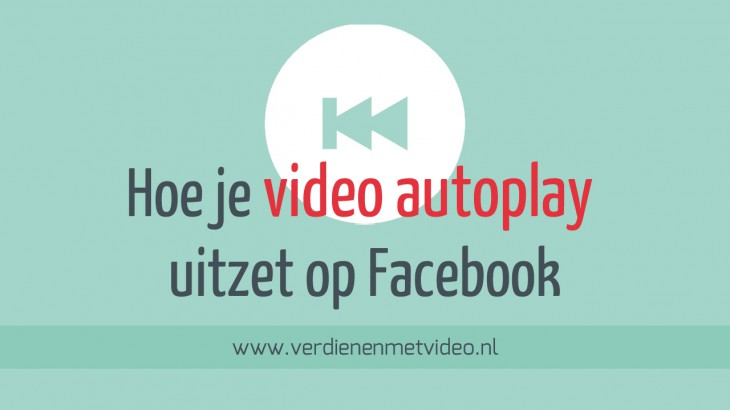 Hoe je video autoplay uitzet op social media