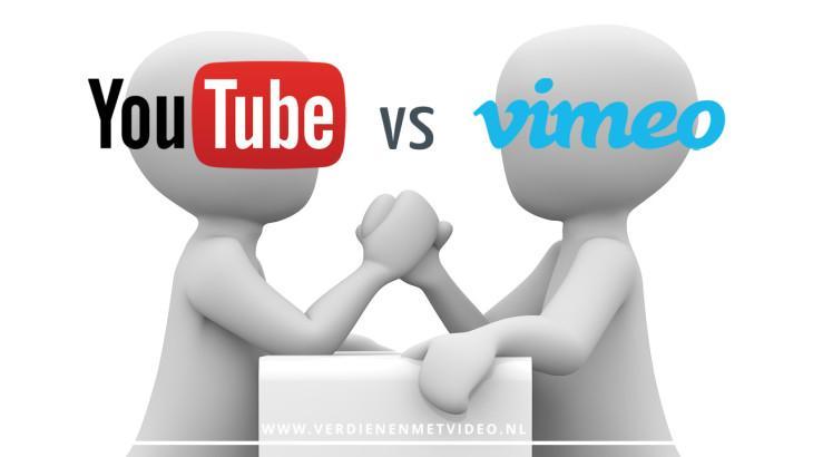 YouTubeversus Vimeo de voordelen en nadelen voor ondernemers