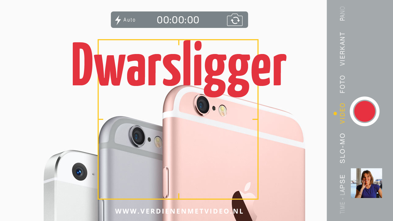 Vertical video versus horizontal video dwarsligger