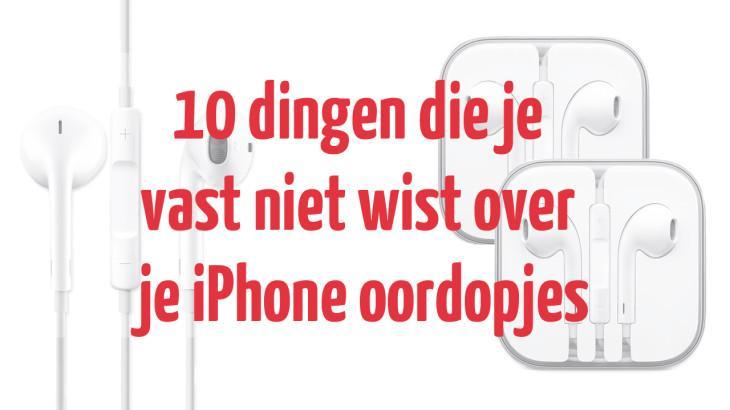 10 dingen die je vast niet wist over je iPhone oordopjes header