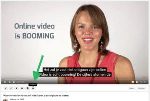 Hoe voeg je ondertiteling toe aan je Facebook video stap 1