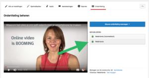 Hoe voeg je ondertiteling toe aan je Facebook video stap 2