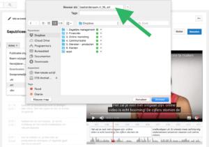 Hoe voeg je ondertiteling toe aan je Facebook video stap 5