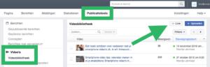 Facebook Live inplannen met OBS stap 1