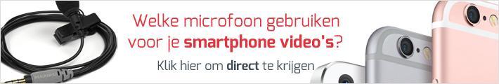 Microfoon voor smartphone videos - Smartphone Vloggen voor Ondernemers