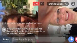 Facebook Live video met 2 personen weergave horizontaal of verticaal