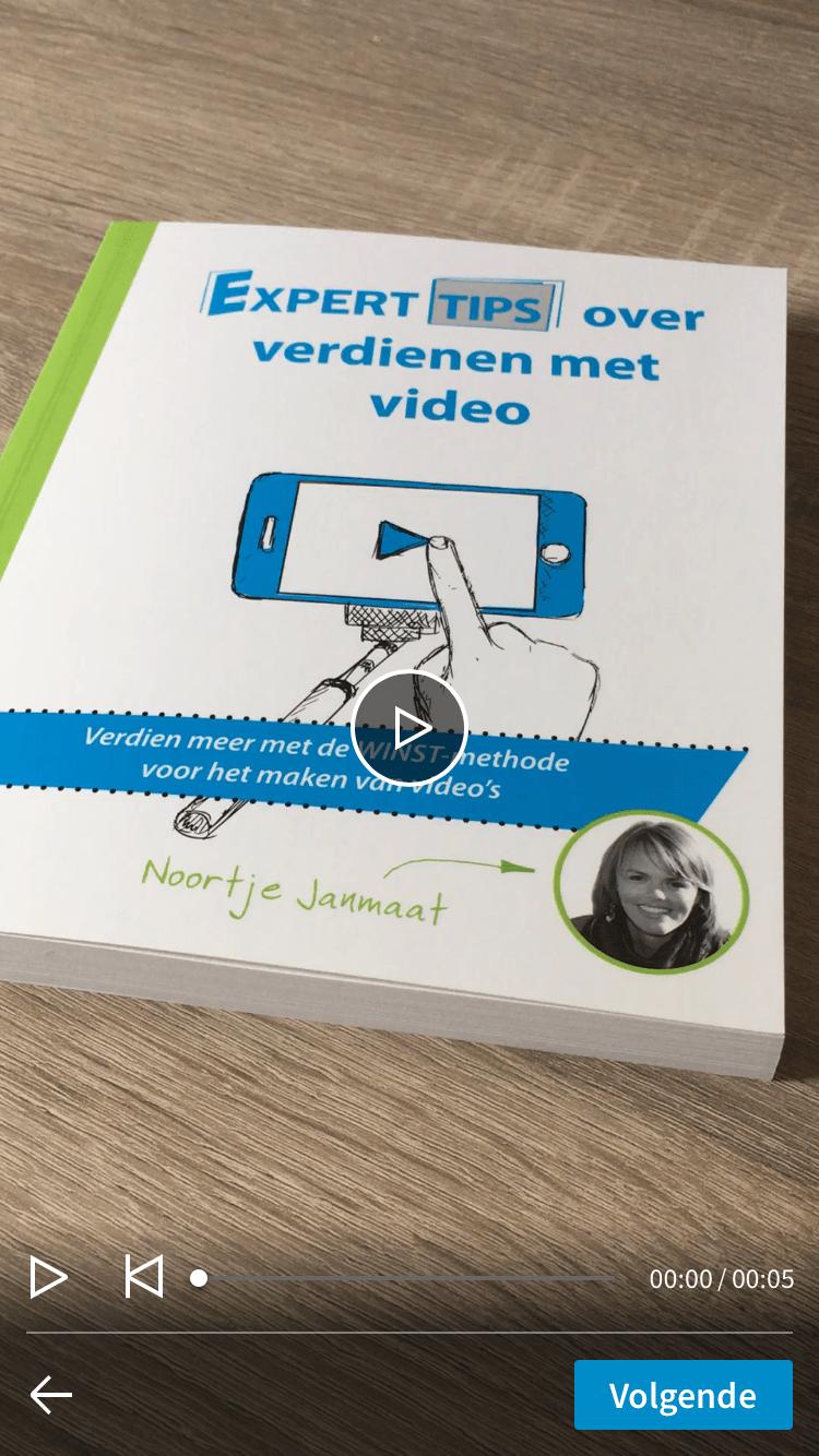 LinkedIn video toevoegen via mobiele app stap 4