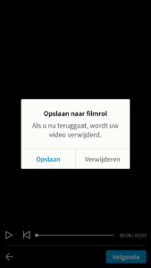 LinkedIn video toevoegen via mobiele app stap 5