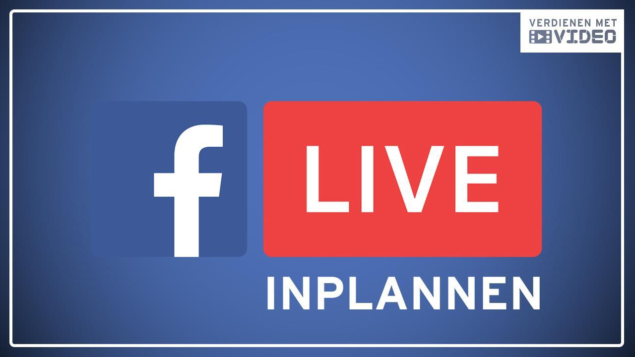 Facebook Live inplannen met BeLive tv voor meer kijkers
