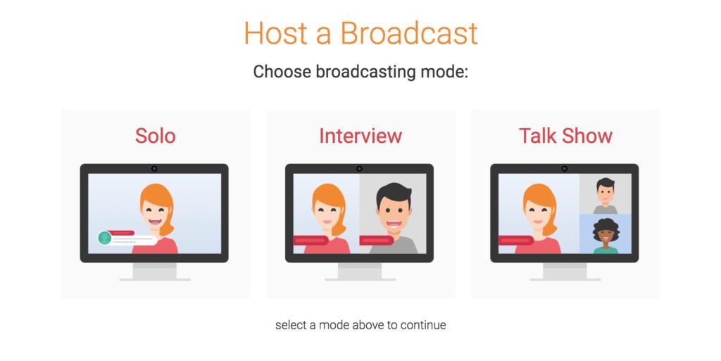 Facebook Live video inplannen met BeLive tv stap 1