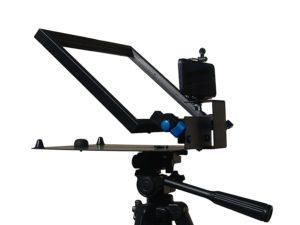 Autocue voor smartphone video zakelijk vloggen voor ondernemers
