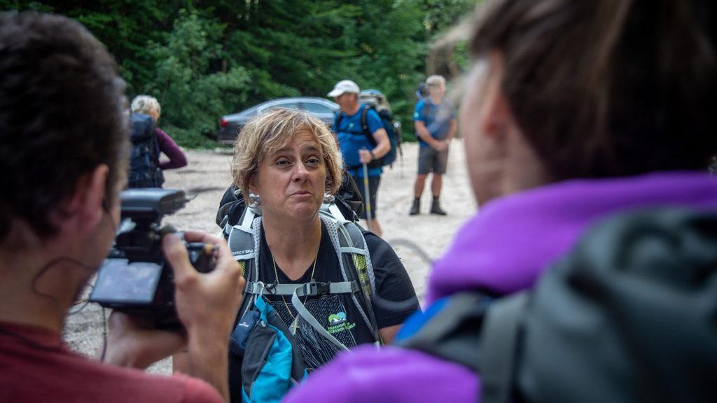 Noor Janmaat expeditie Slovenië Jonas Föllmi