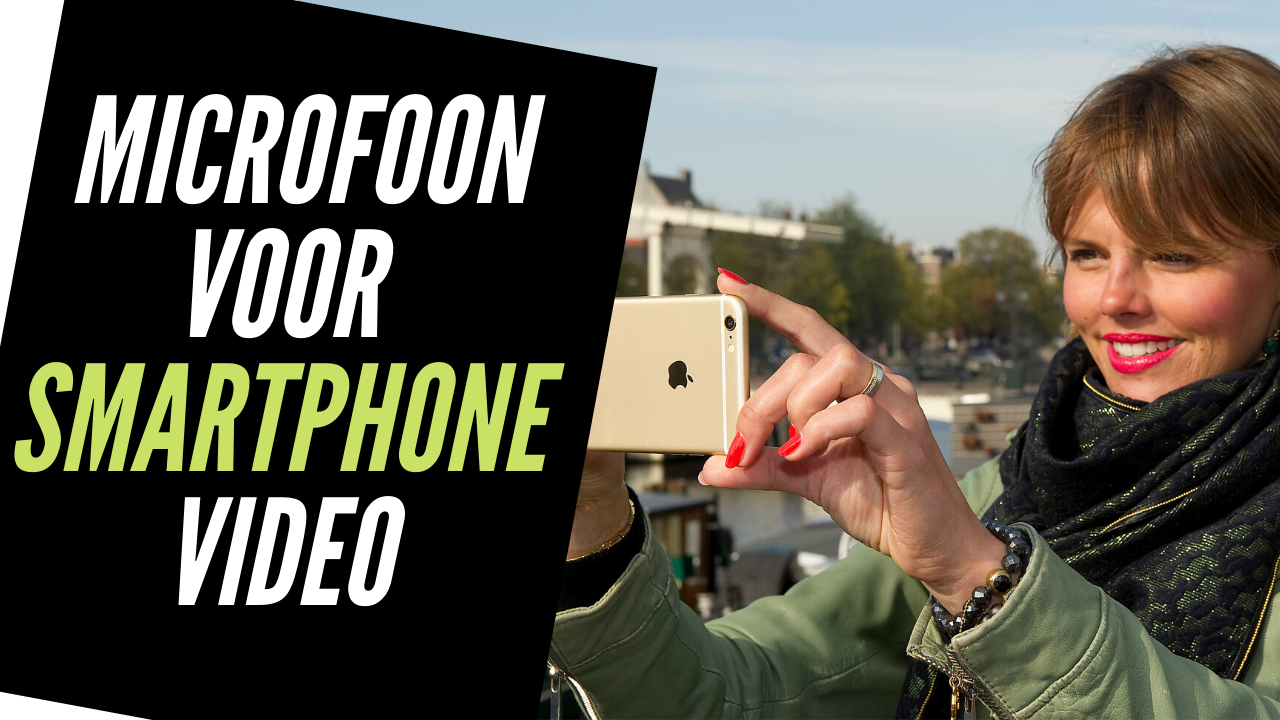 Microfoon voor smartphone video