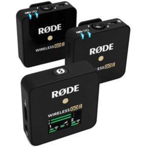 Rode Wireless Go II draadloze dasspeldmicrofoon voor video