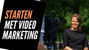 Gratis video training starten met videomarketing