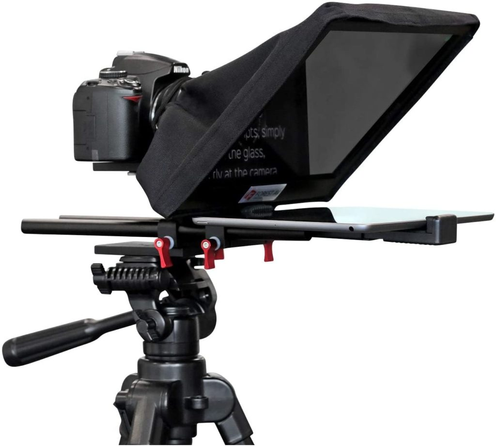 Autocue voor video video opnemen