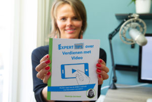Boek over videomarketing voor bedrijven Noortje Janmaat