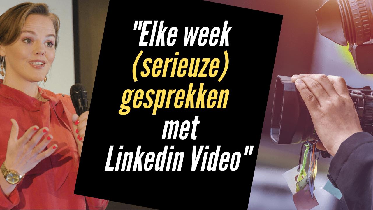 Masterclass Leads Krijgen met LinkedIn Video