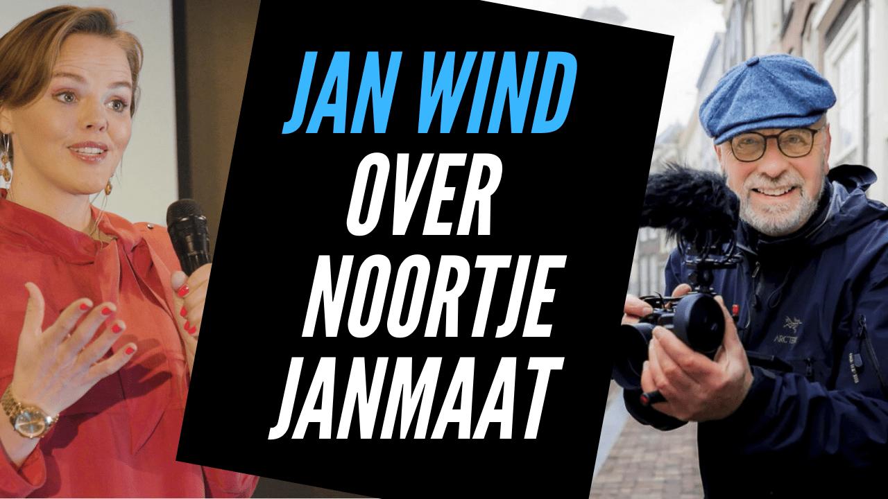 Videomaker Jan Wind over Noortje Janmaat