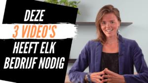 Video voor Bedrijven 3 videos die ELK bedrijf nodig heeft