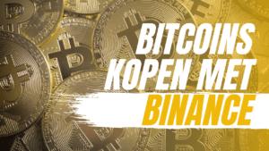 Binance account maken om crypto te kopen