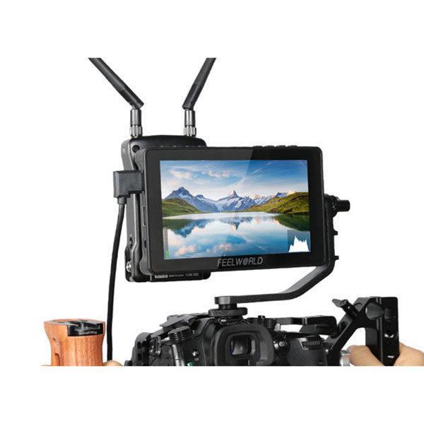 Video monitor voor video-opnames