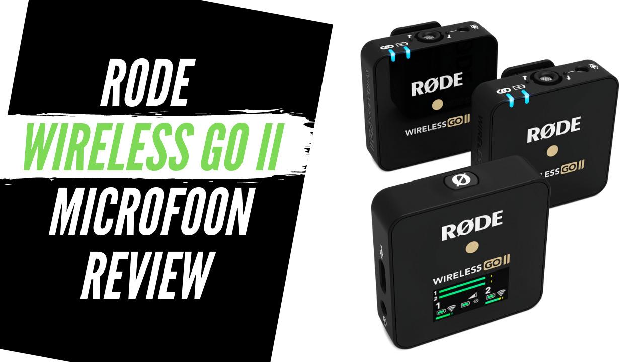 Rode Wireless GO II microfoon voor video review