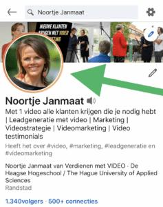 LinkedIn Cover Story video toevoegen 2