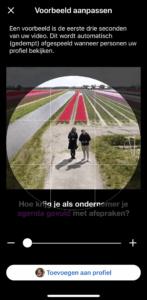 LinkedIn Cover Story video toevoegen 5