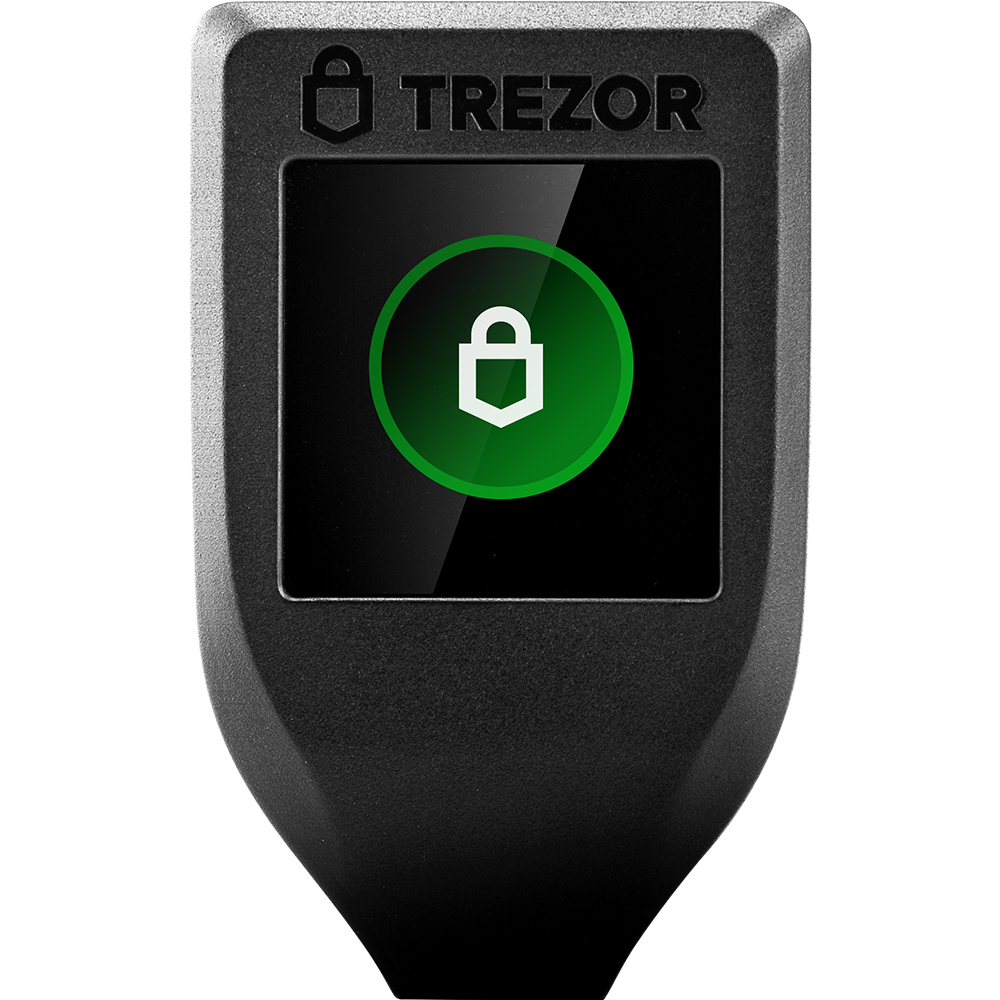 Bitcoin hardware wallet Trezor T