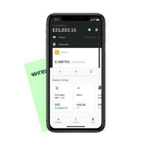 Wirex Bitcoin creditcard app