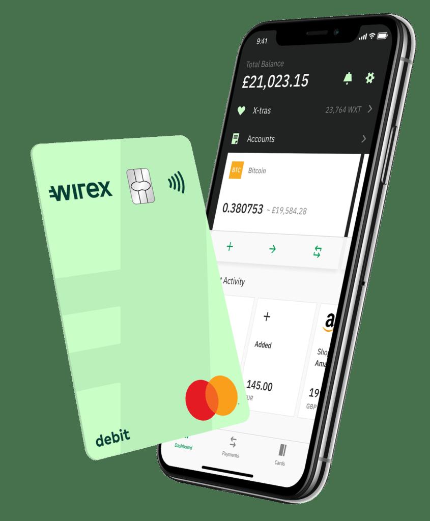 Wirex bitcoin betaalkaart